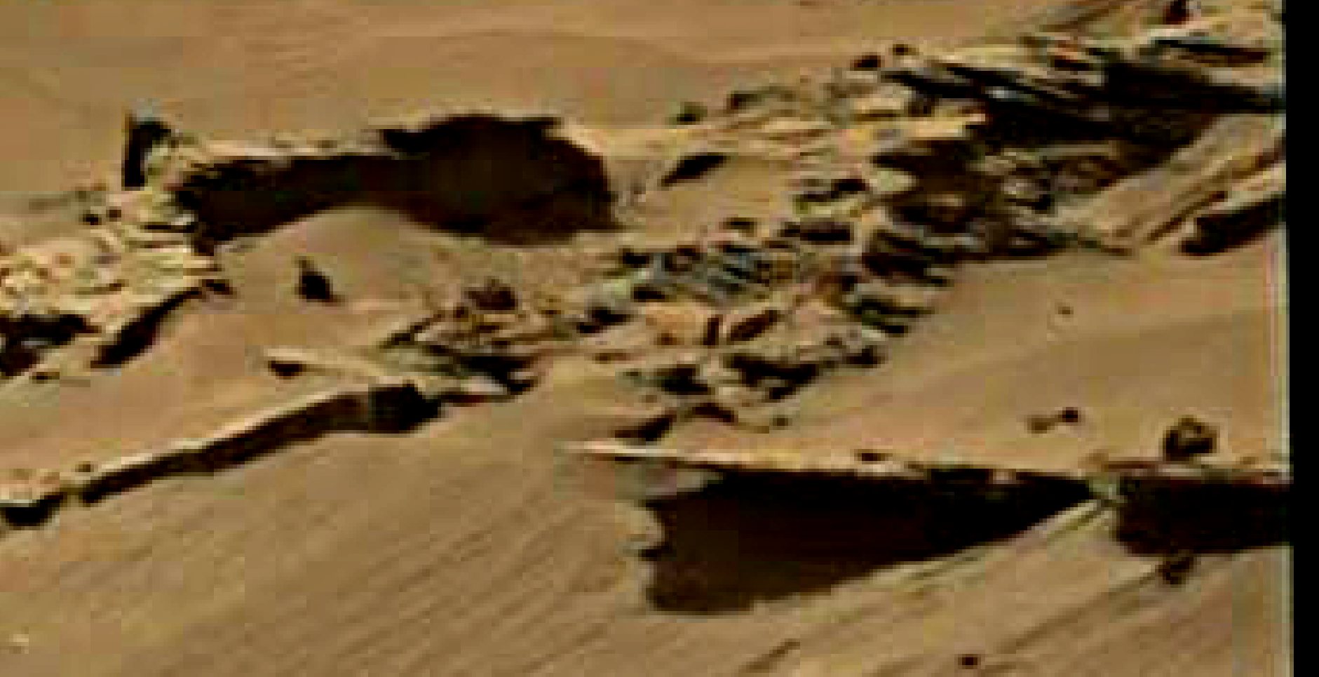 mars sol 1344 anomaly-artifacts 5 was life on mars