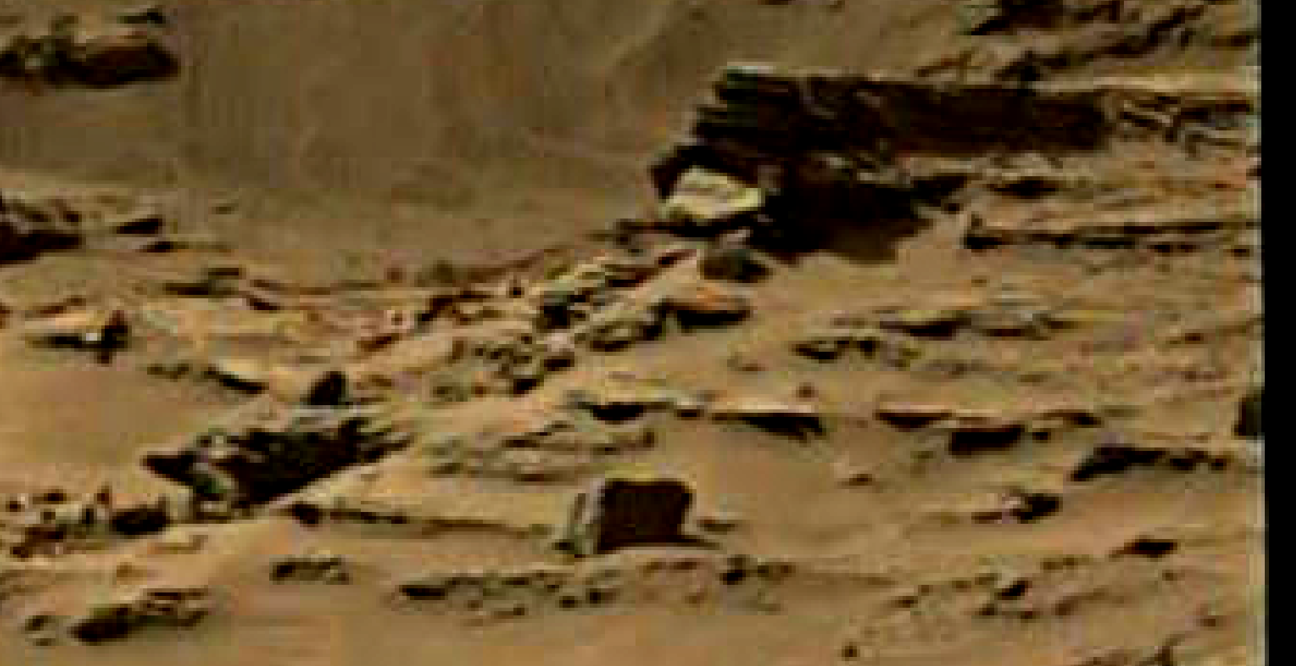 mars sol 1344 anomaly-artifacts 6 was life on mars