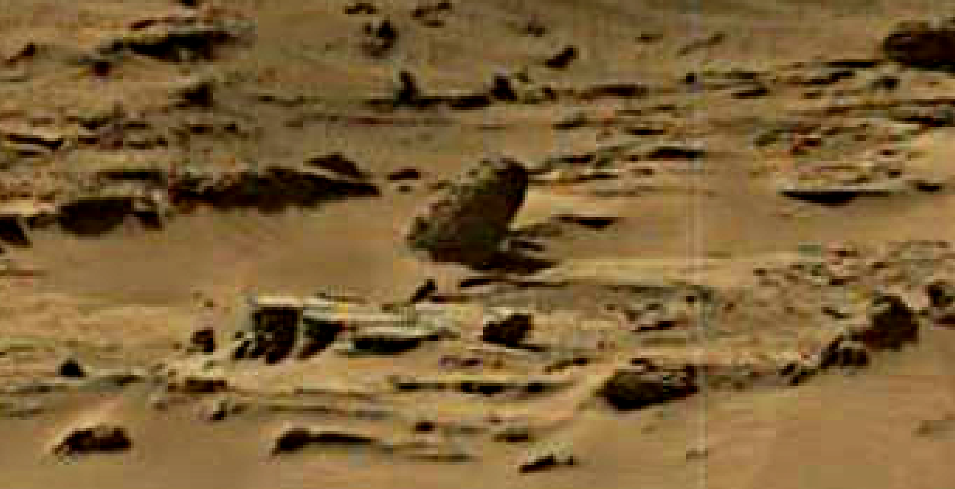 mars sol 1344 anomaly-artifacts 7 was life on mars