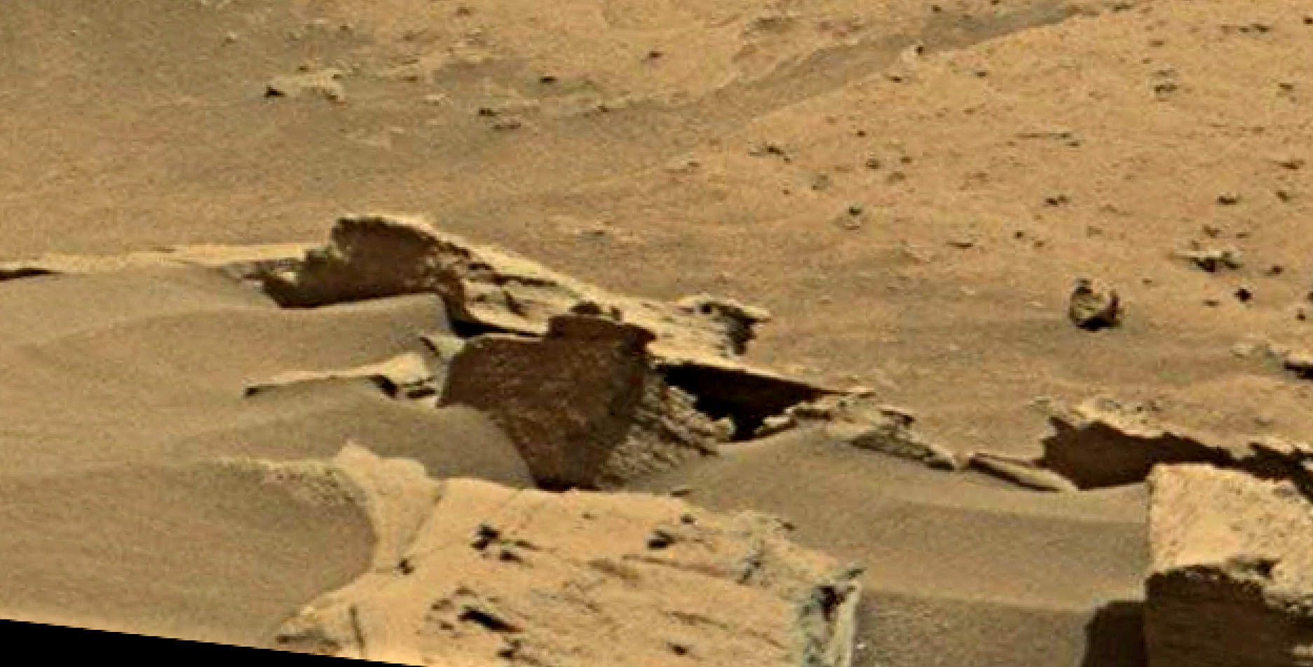 mars sol 1346 anomaly-artifacts 1 was life on mars