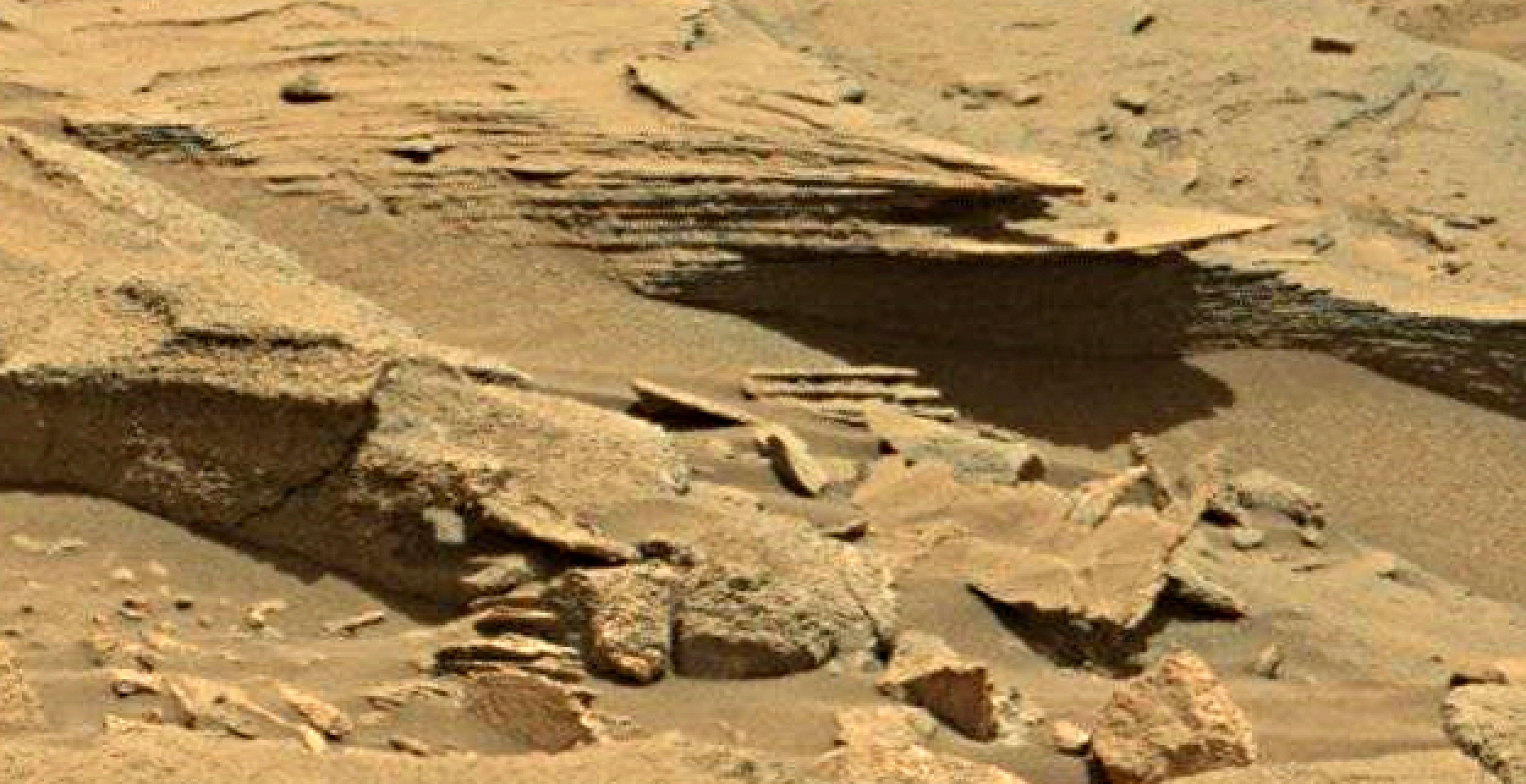 mars sol 1346 anomaly-artifacts 10 was life on mars