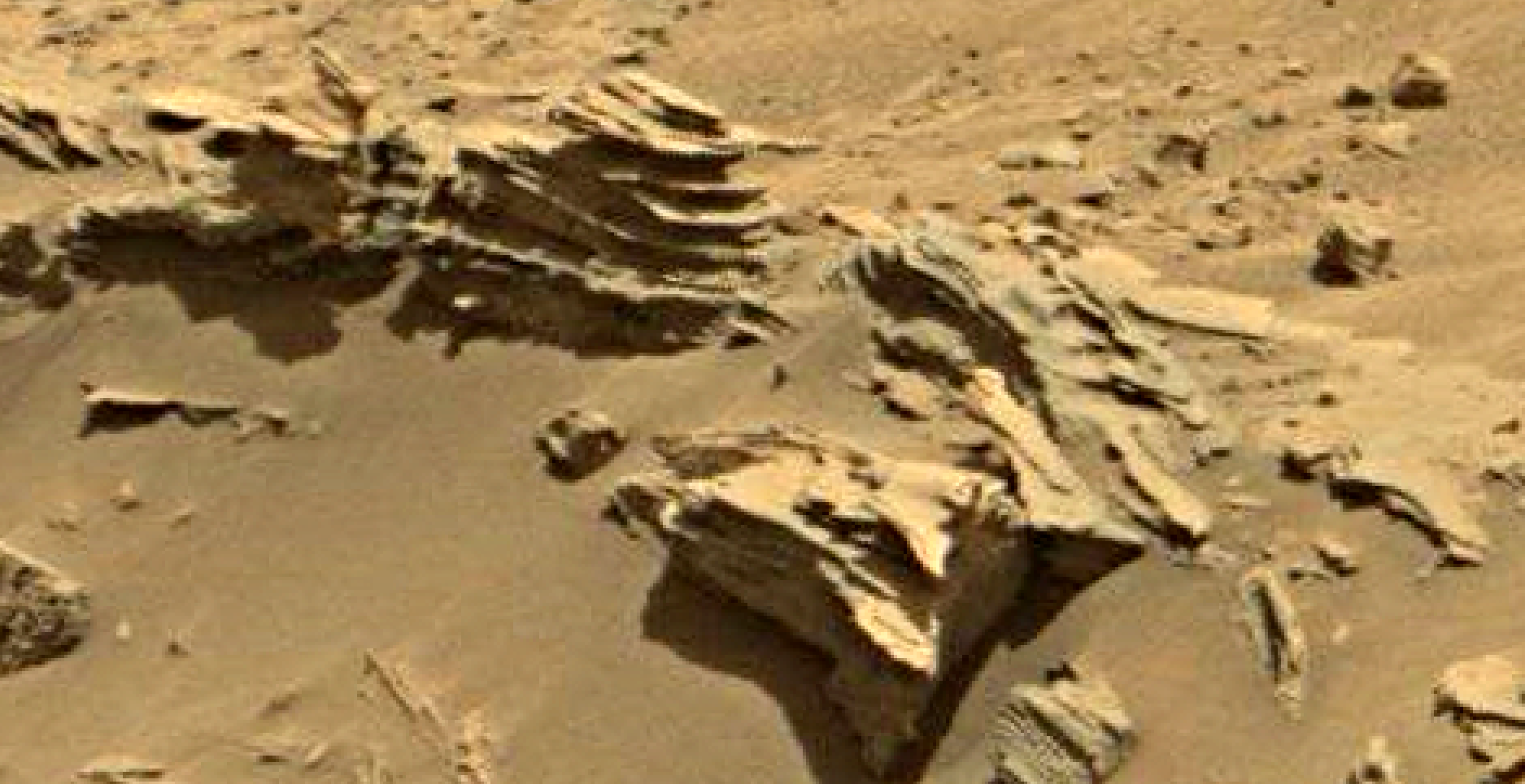 mars sol 1346 anomaly-artifacts 12 was life on mars