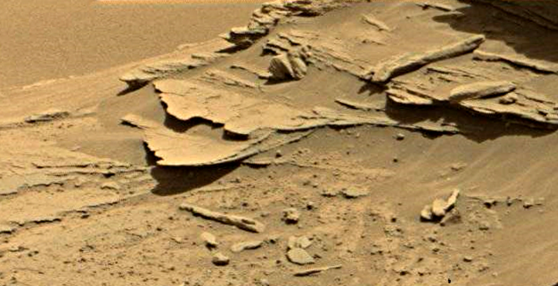 mars sol 1346 anomaly-artifacts 13 was life on mars