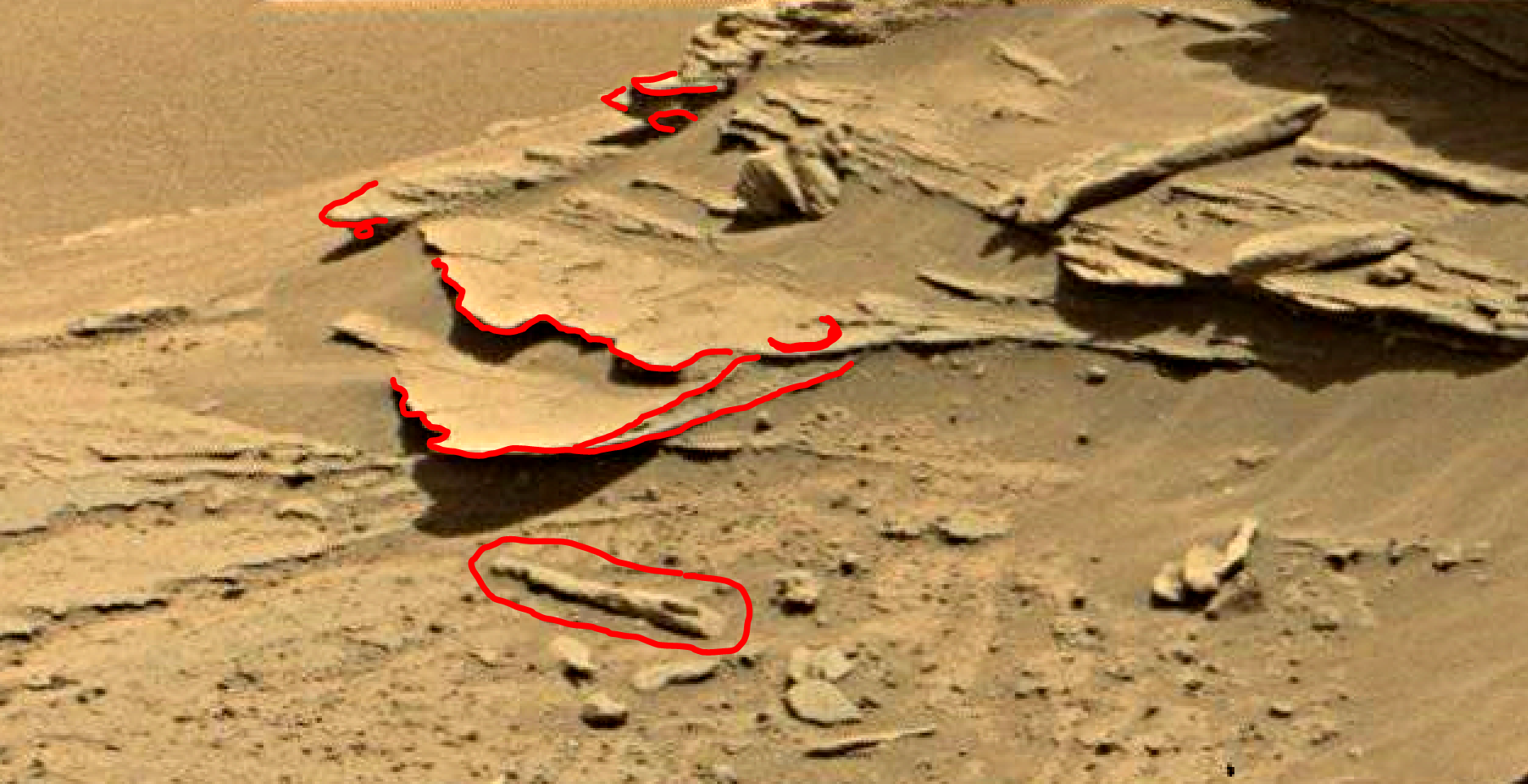 mars sol 1346 anomaly-artifacts 13a was life on mars
