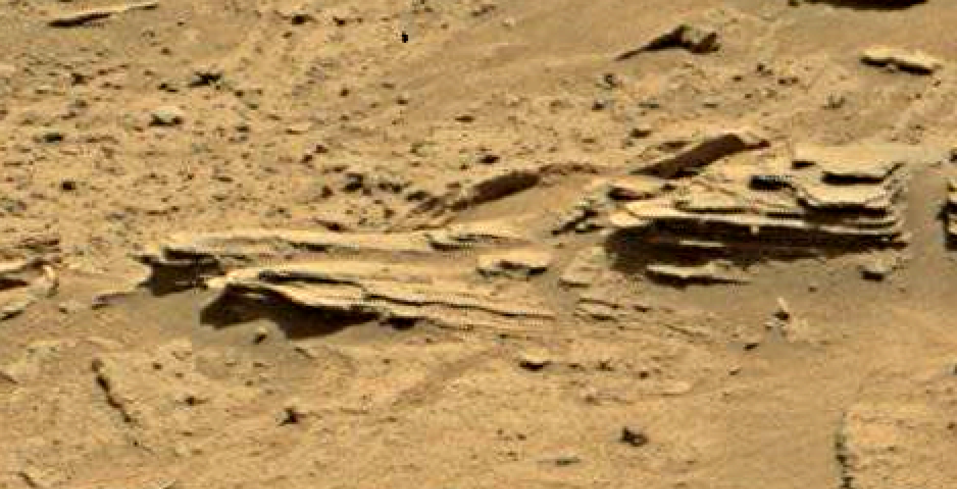 mars sol 1346 anomaly-artifacts 14 was life on mars