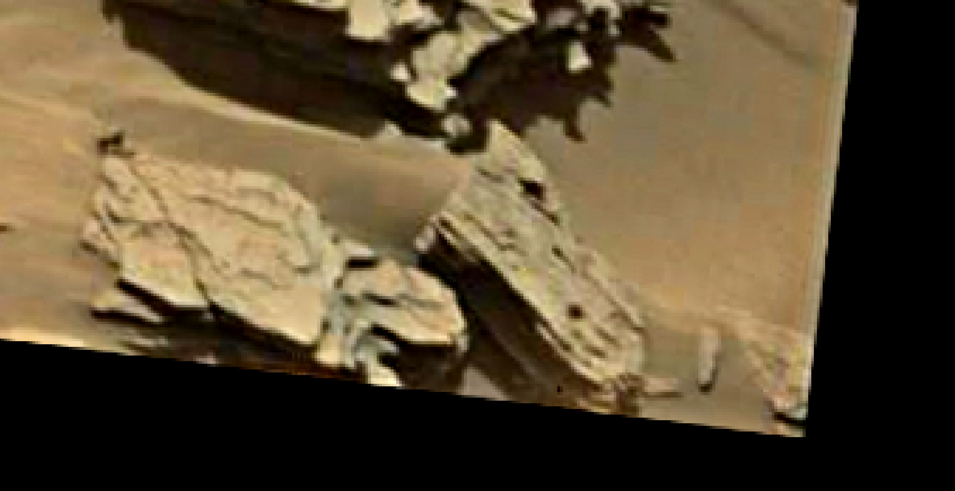 mars sol 1346 anomaly-artifacts 18 was life on mars