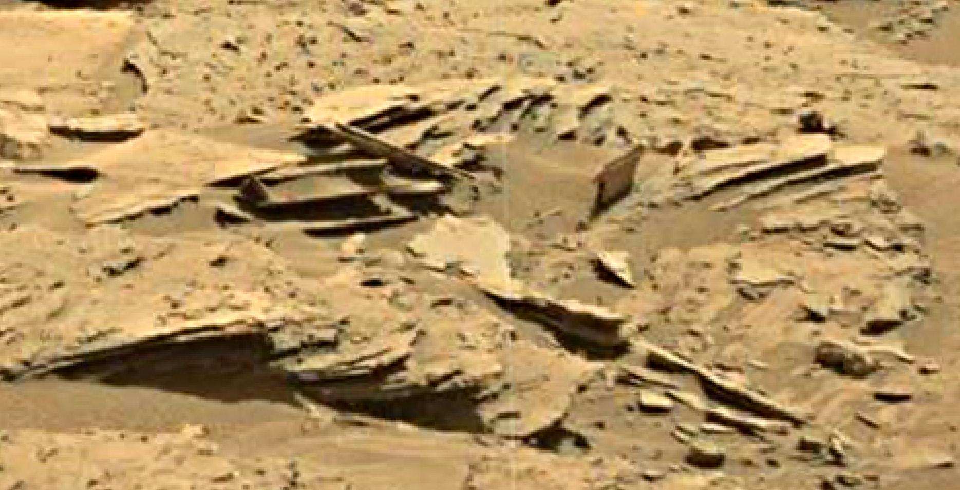 mars sol 1346 anomaly-artifacts 19 was life on mars