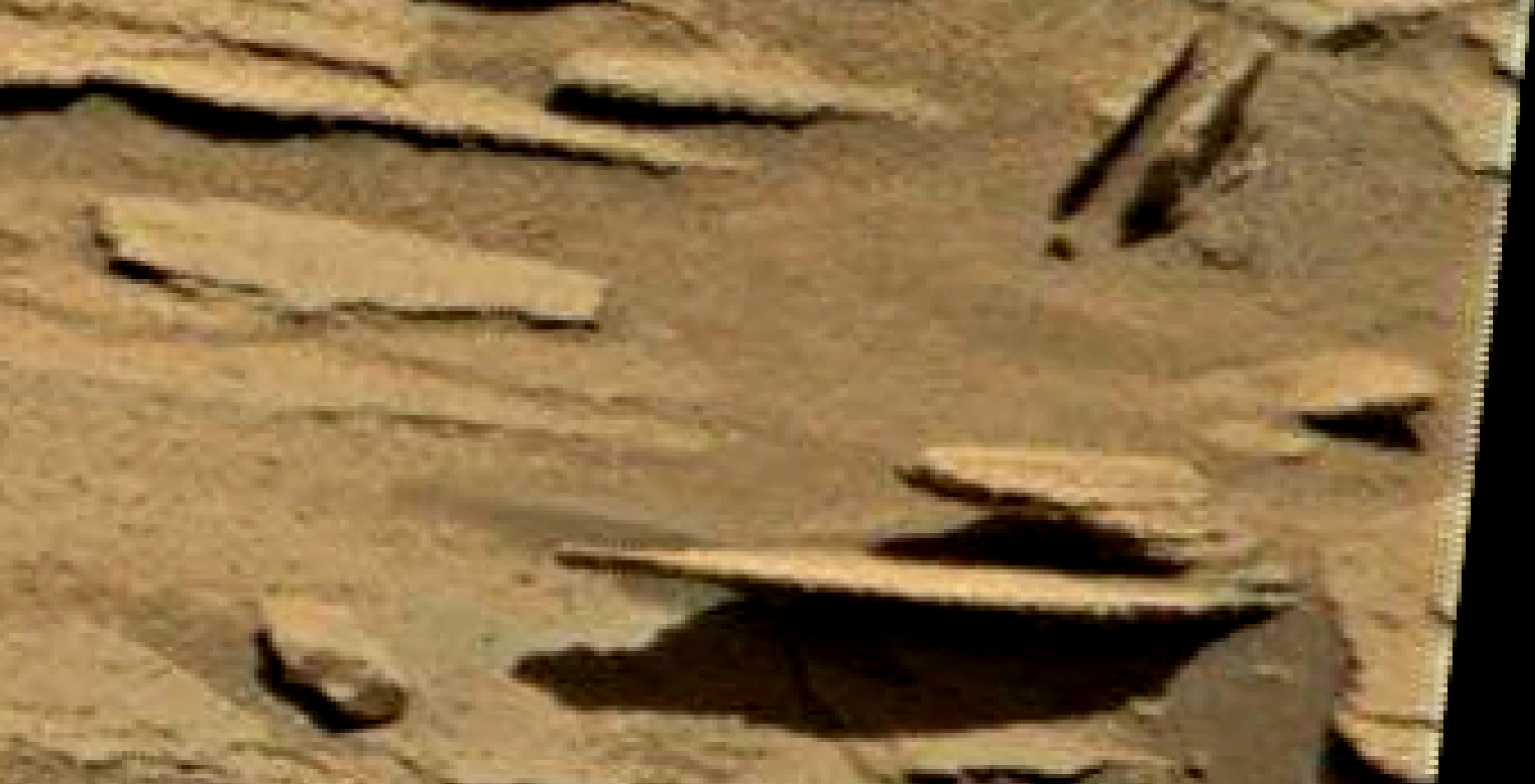 mars sol 1346 anomaly-artifacts 2 was life on mars