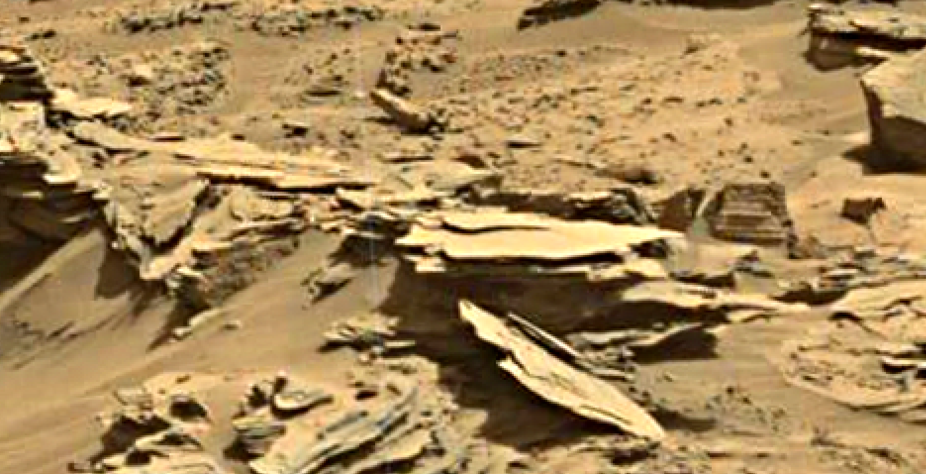 mars sol 1346 anomaly-artifacts 21 was life on mars