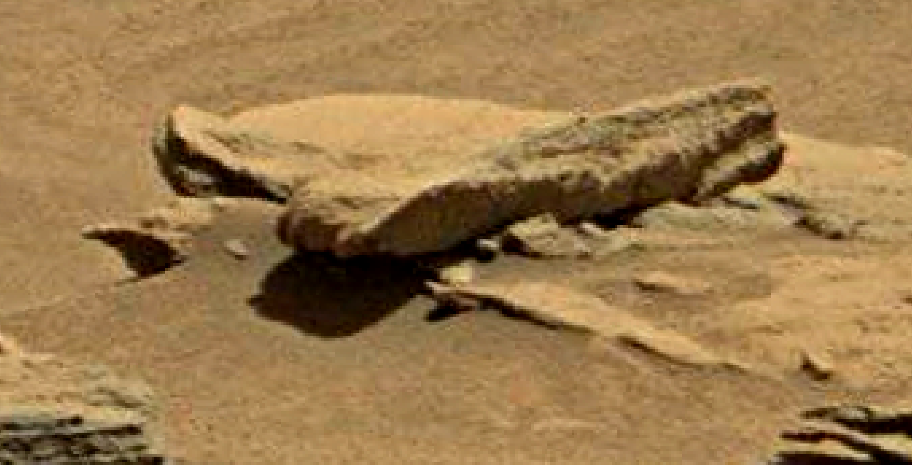 mars sol 1346 anomaly-artifacts 3 was life on mars