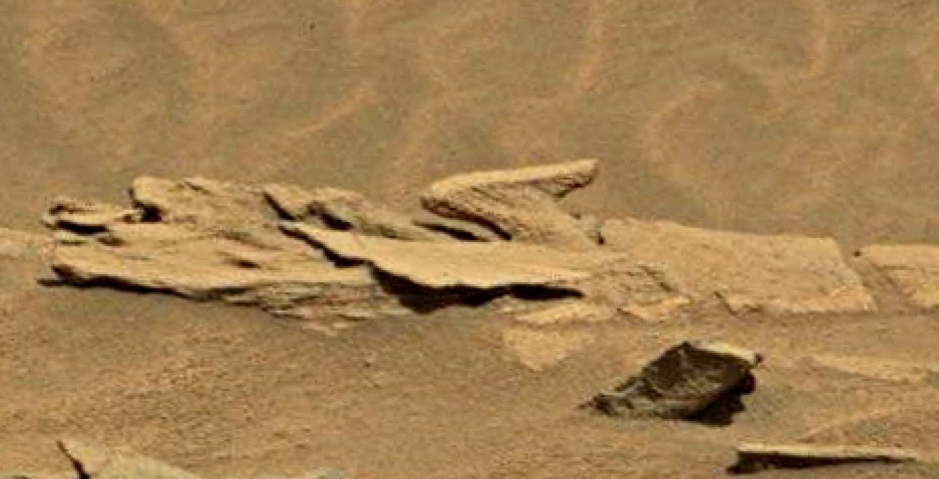 12 Bizarre Discoveries on Mars from Mars Orbiter Mars-sol-1346-anomaly-artifacts-4-was-life-on-mars