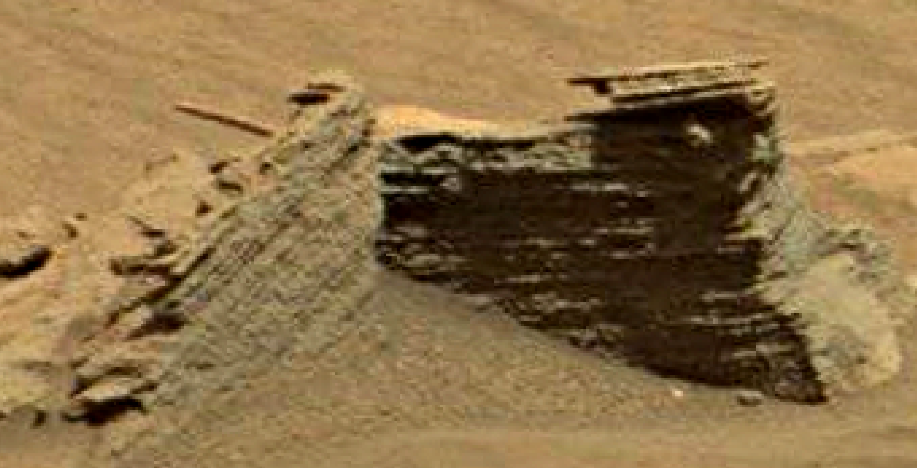 mars sol 1346 anomaly-artifacts 8 was life on mars