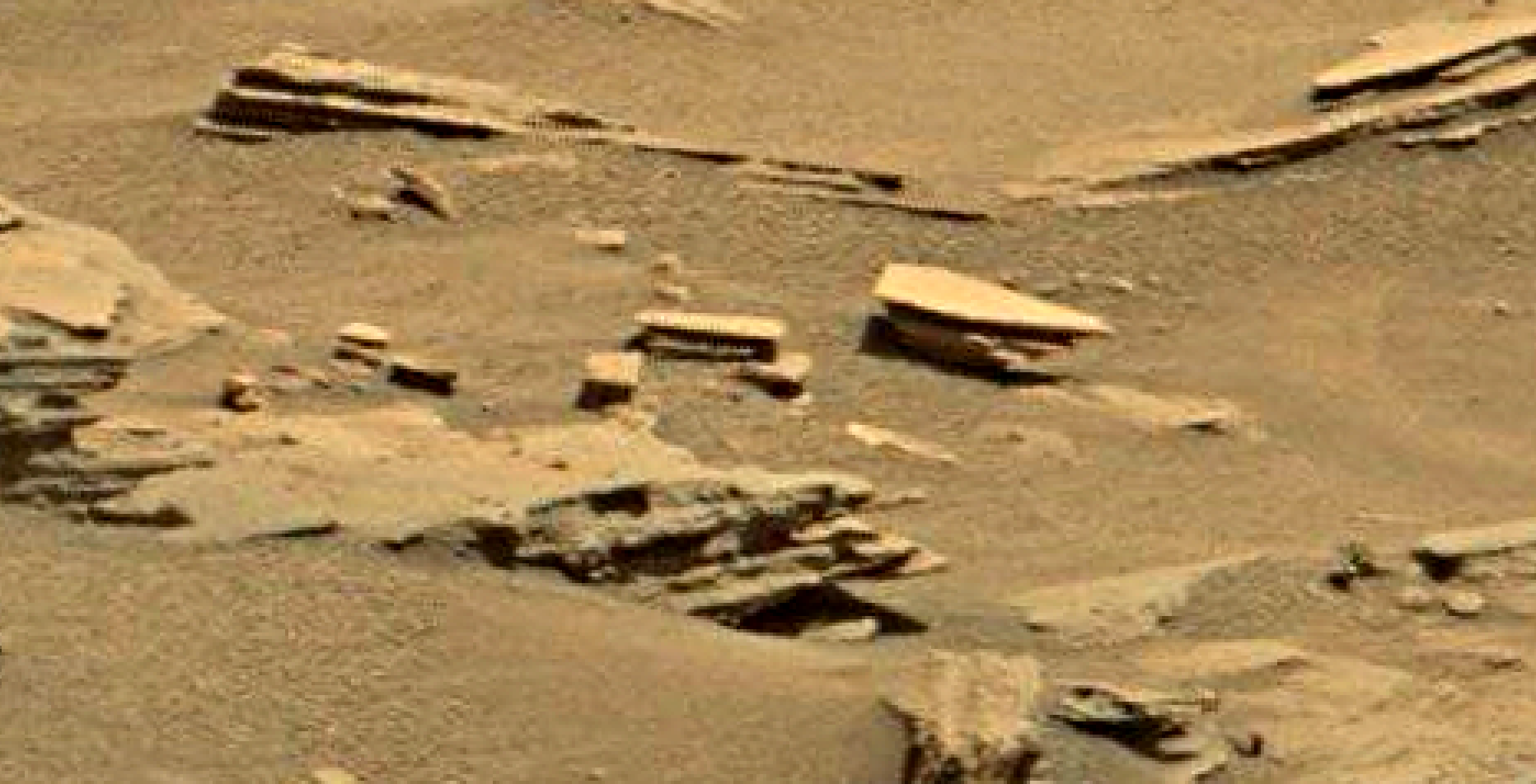 mars sol 1346 anomaly-artifacts 9 was life on mars