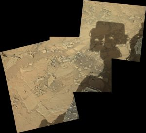 panoramic curiosity rover view 3 - sol 1303 - was life on mars