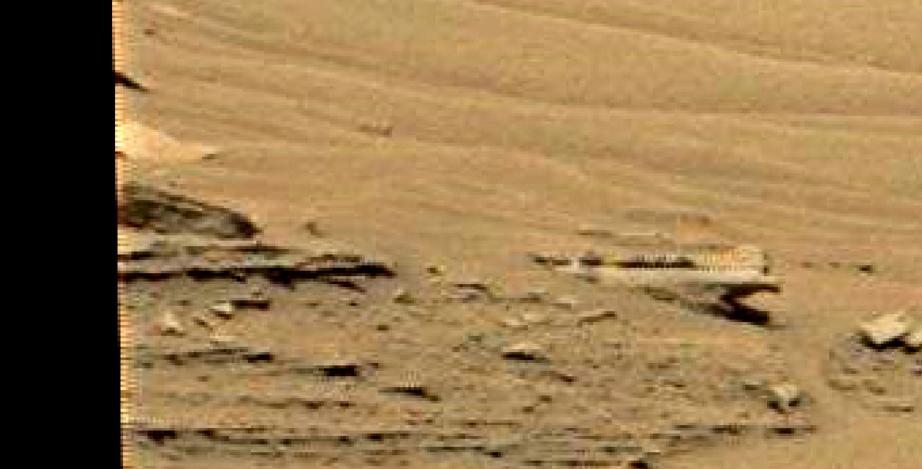 mars sol 1353 anomaly-artifacts 1 was life on mars