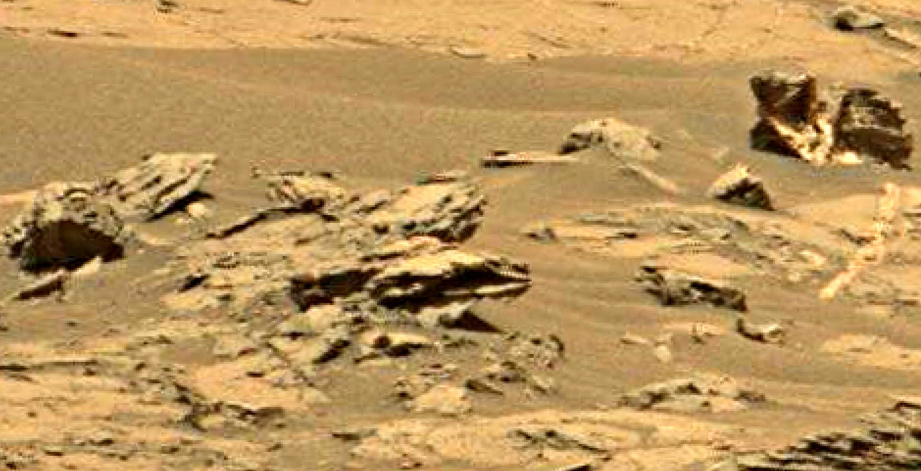 mars sol 1353 anomaly-artifacts 10 was life on mars