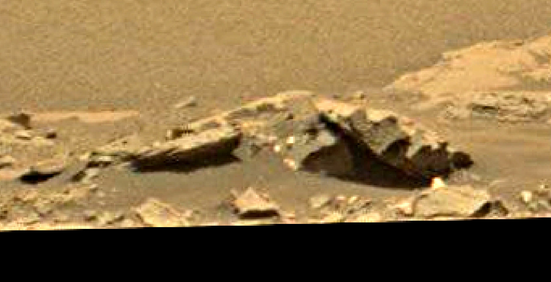 mars sol 1353 anomaly-artifacts 11 was life on mars