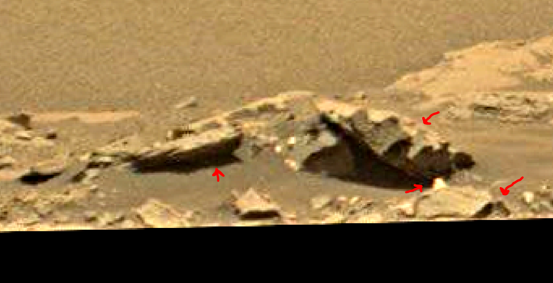 mars sol 1353 anomaly-artifacts 11a was life on mars