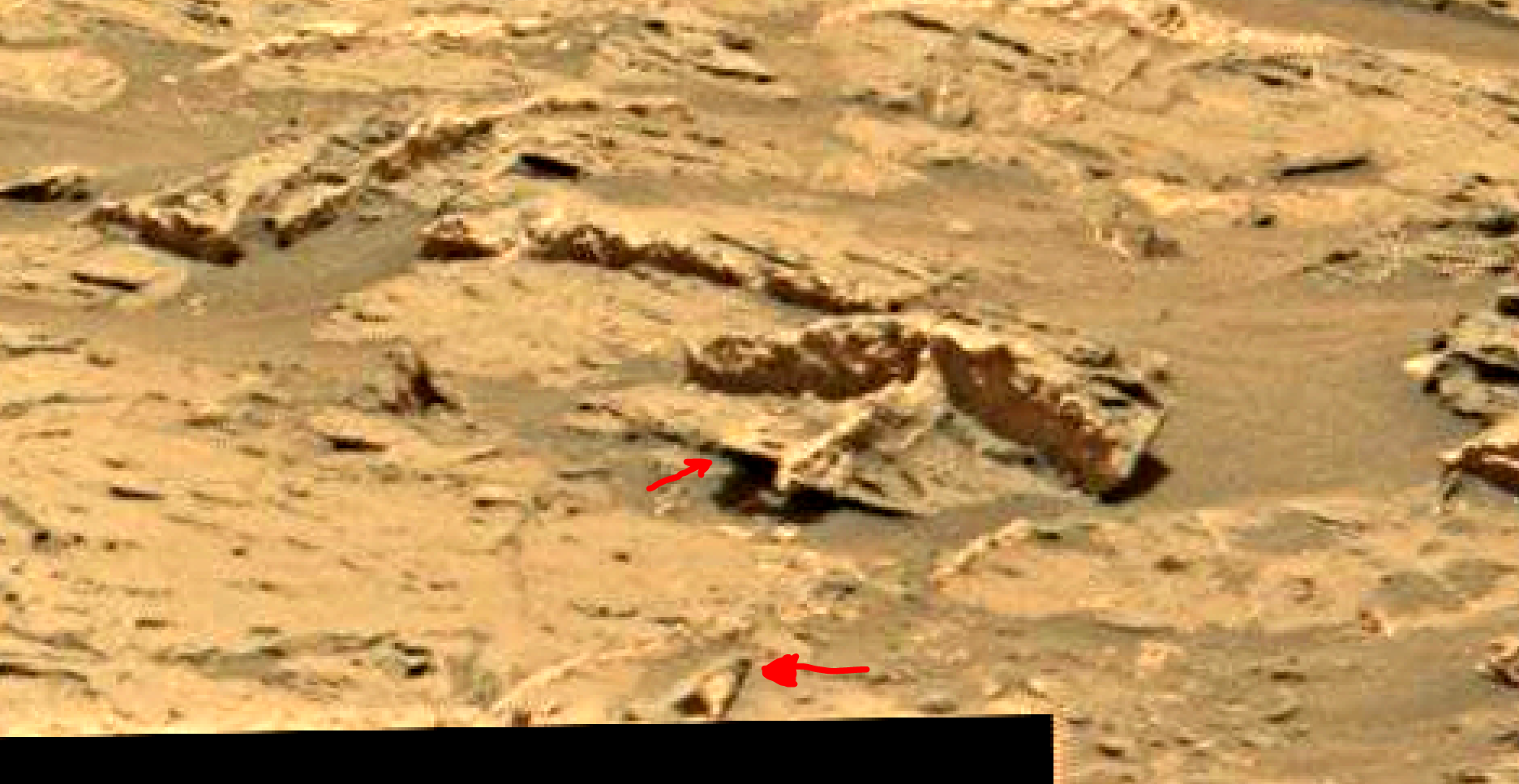 mars sol 1353 anomaly-artifacts 12 was life on mars