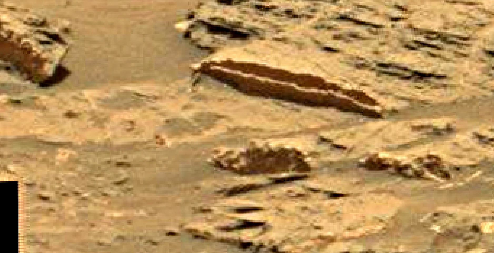 mars sol 1353 anomaly-artifacts 13 was life on mars