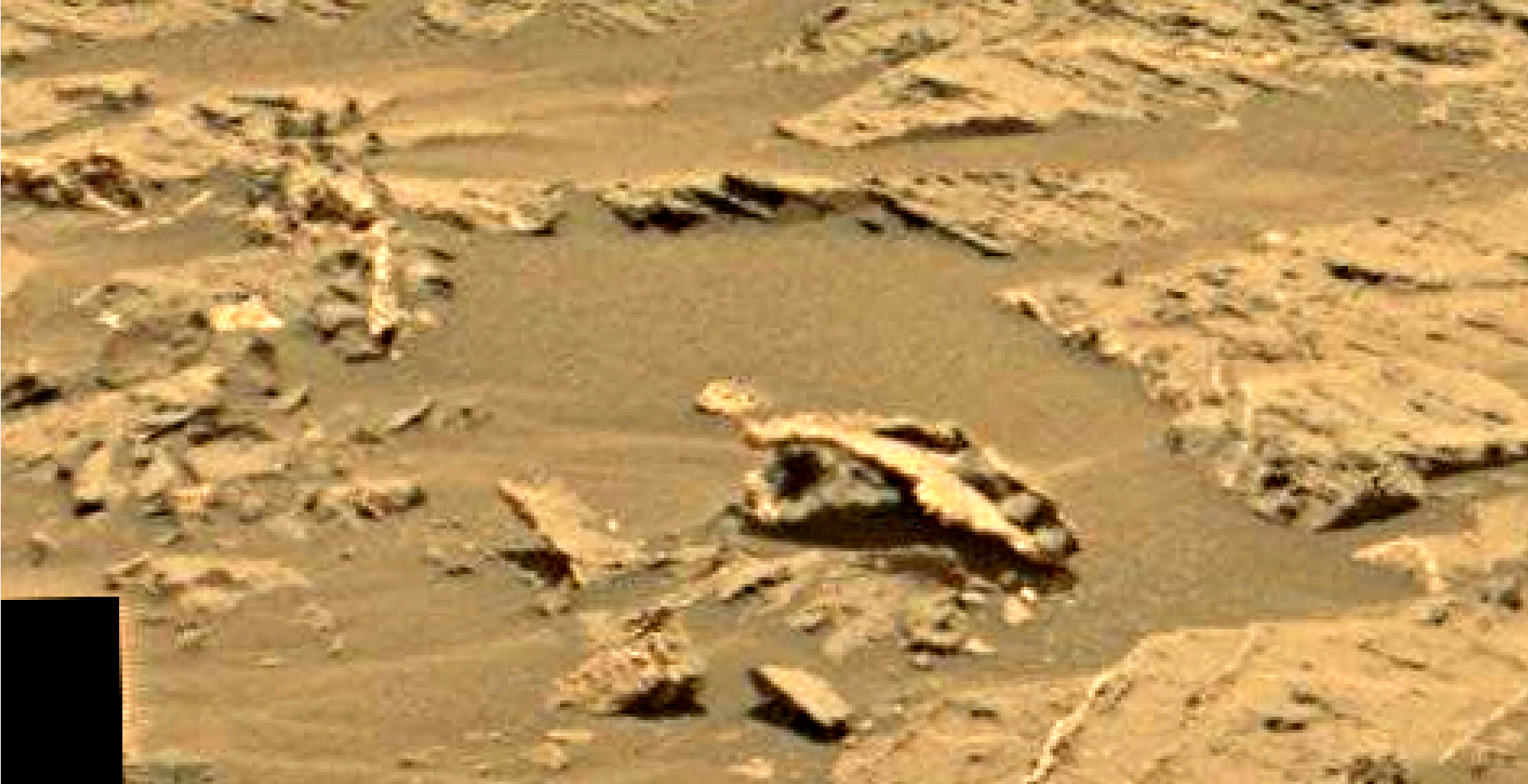mars sol 1353 anomaly-artifacts 14 was life on mars