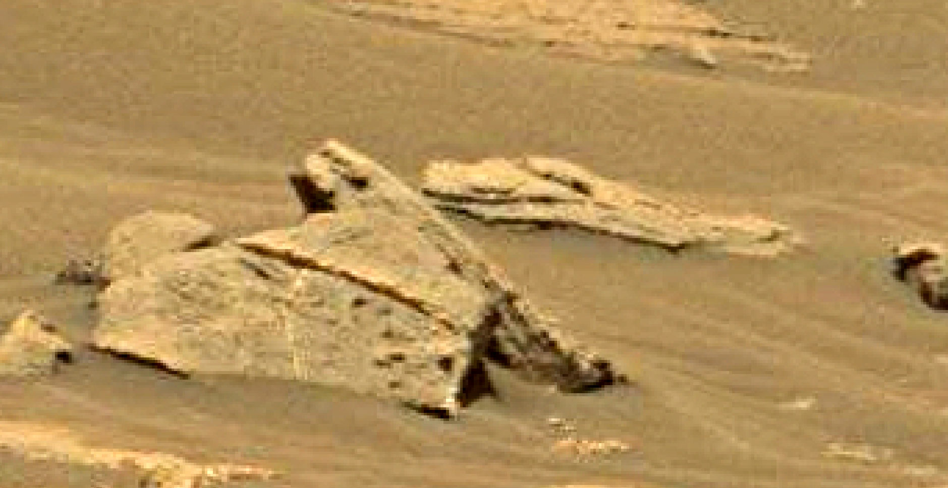 mars sol 1353 anomaly-artifacts 16 was life on mars