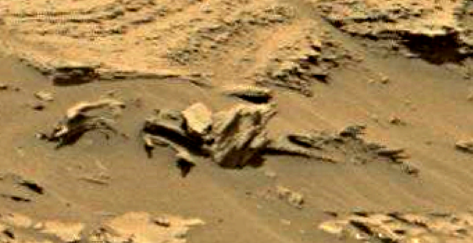 mars sol 1353 anomaly-artifacts 17 was life on mars