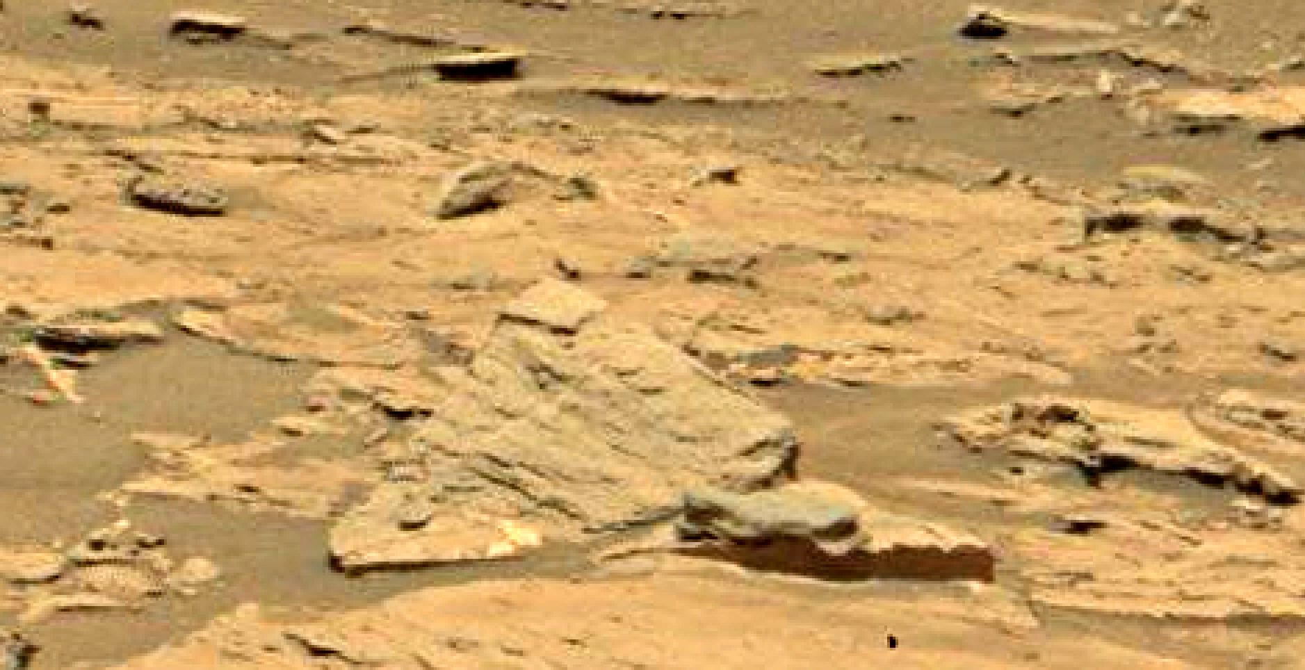 mars sol 1353 anomaly-artifacts 2 was life on mars