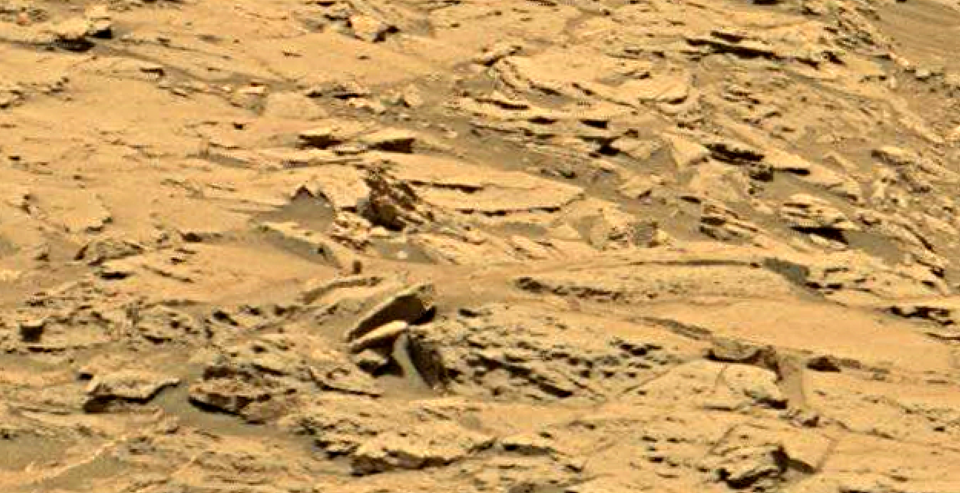 mars sol 1353 anomaly-artifacts 22 was life on mars
