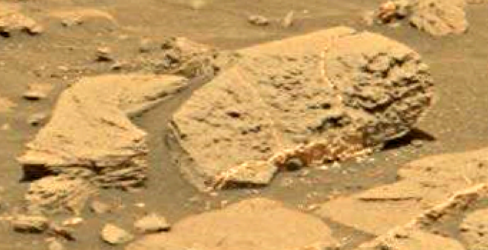 mars sol 1353 anomaly-artifacts 23 was life on mars