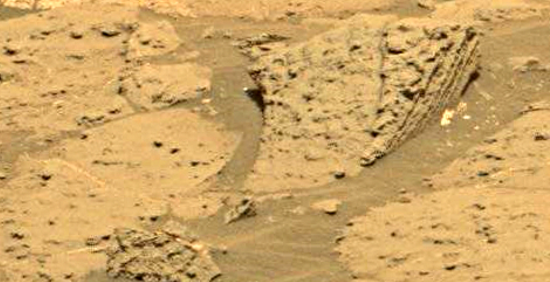 mars sol 1353 anomaly-artifacts 24 was life on mars