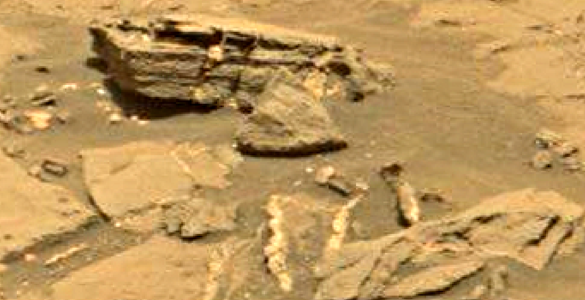 mars sol 1353 anomaly-artifacts 25 was life on mars