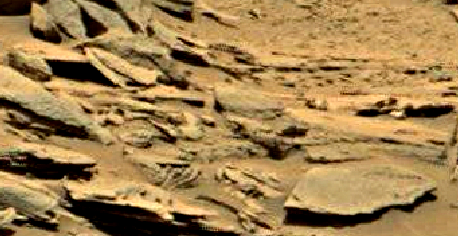 mars sol 1353 anomaly-artifacts 28c was life on mars