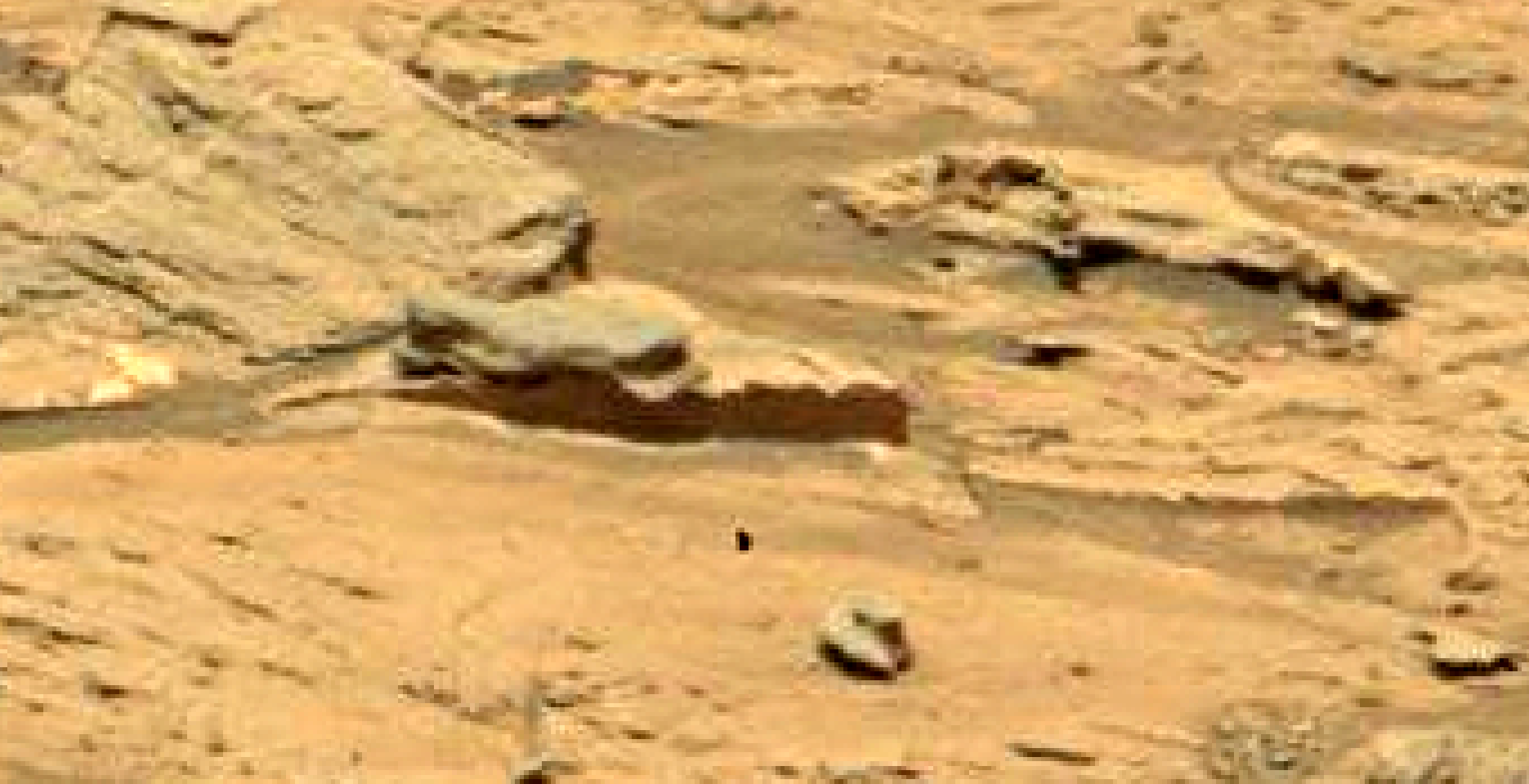 mars sol 1353 anomaly-artifacts 2b was life on mars