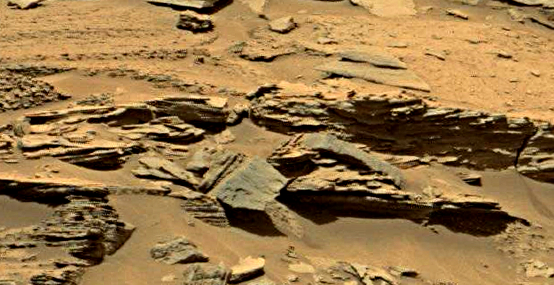 mars sol 1353 anomaly-artifacts 30-1 was life on mars