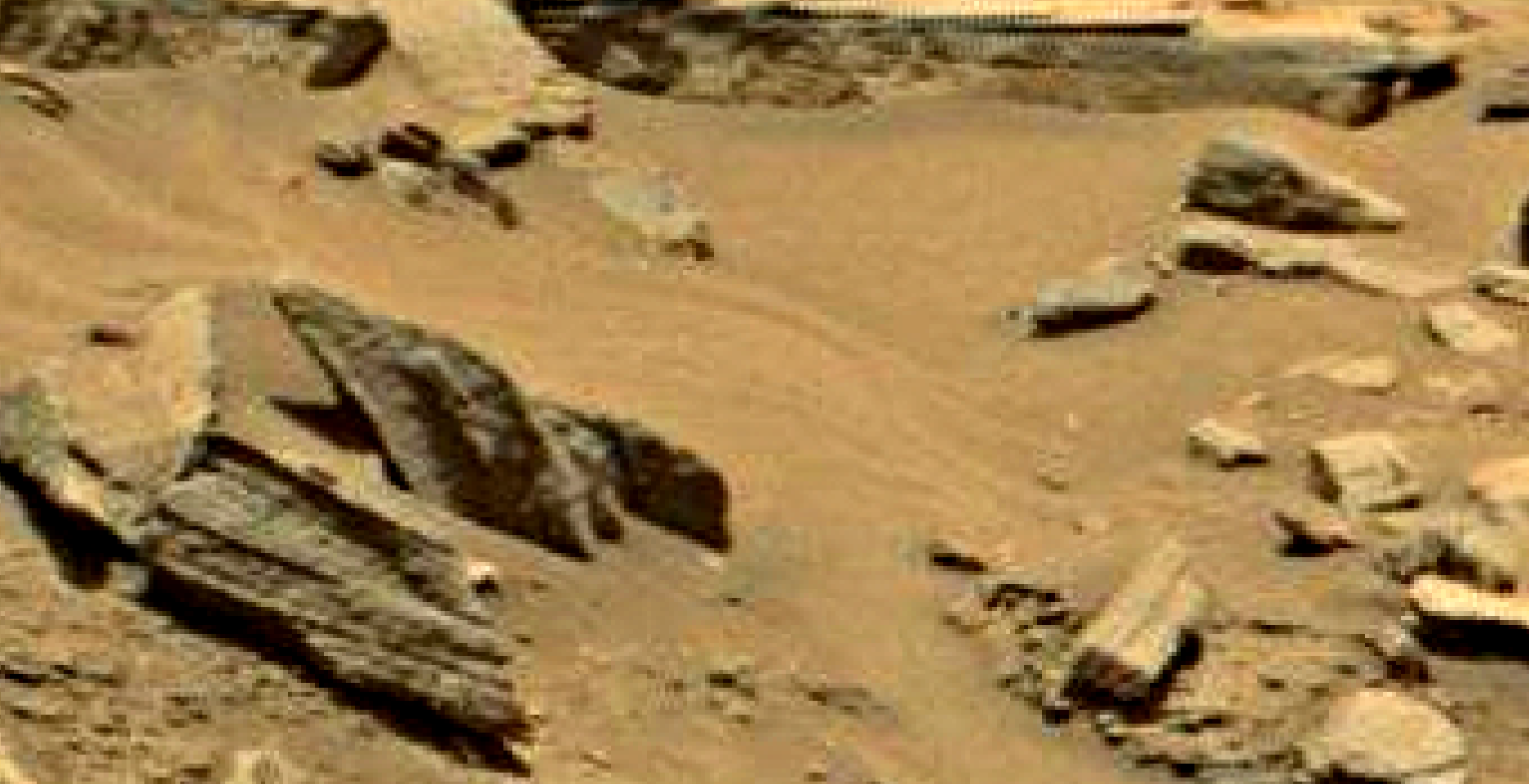 mars sol 1353 anomaly-artifacts 30 was life on mars