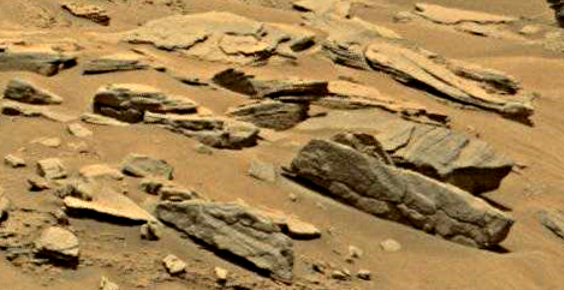 mars sol 1353 anomaly-artifacts 31 was life on mars