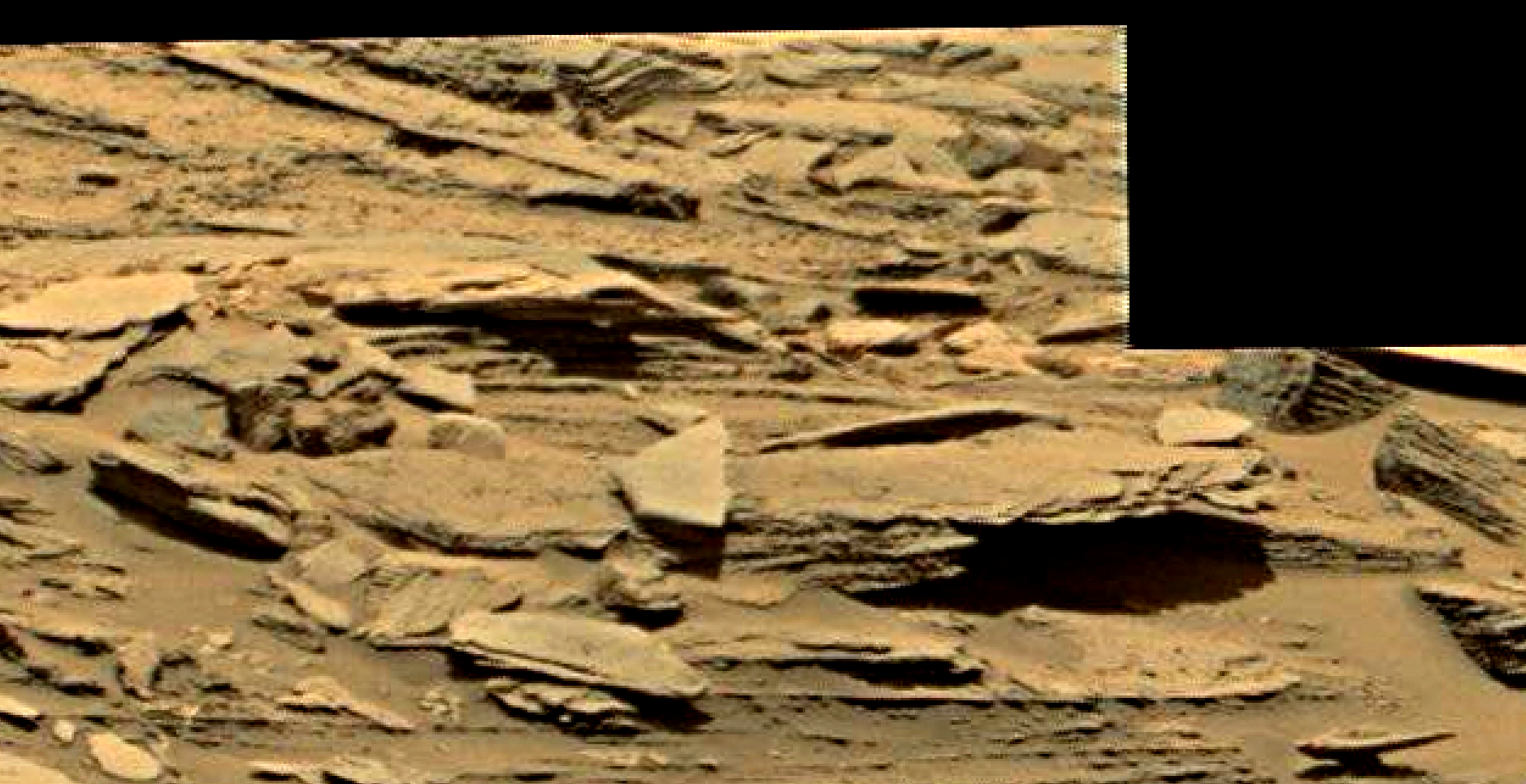 mars sol 1353 anomaly-artifacts 32 was life on mars