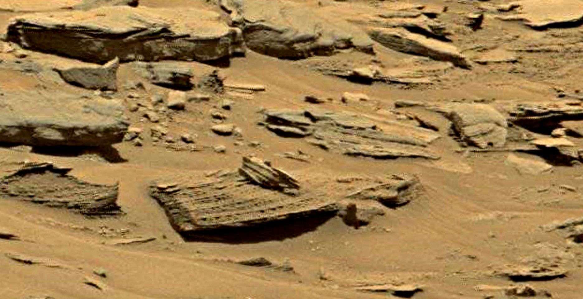 mars sol 1353 anomaly-artifacts 35 was life on mars