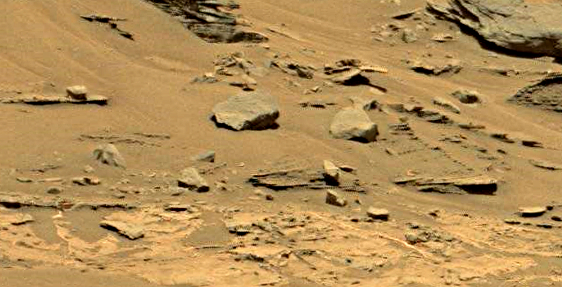 mars sol 1353 anomaly-artifacts 36 was life on mars