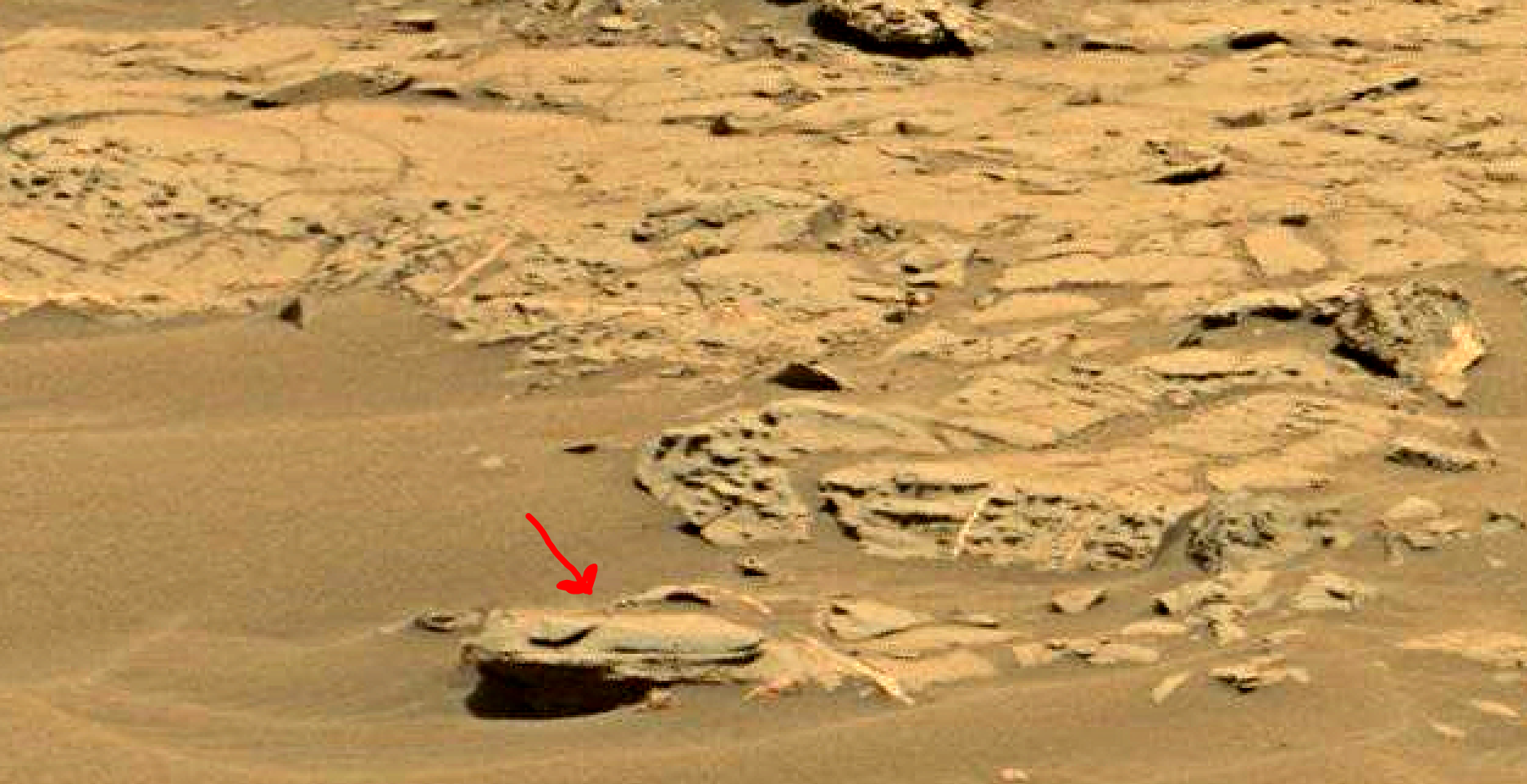 mars sol 1353 anomaly-artifacts 38 was life on mars