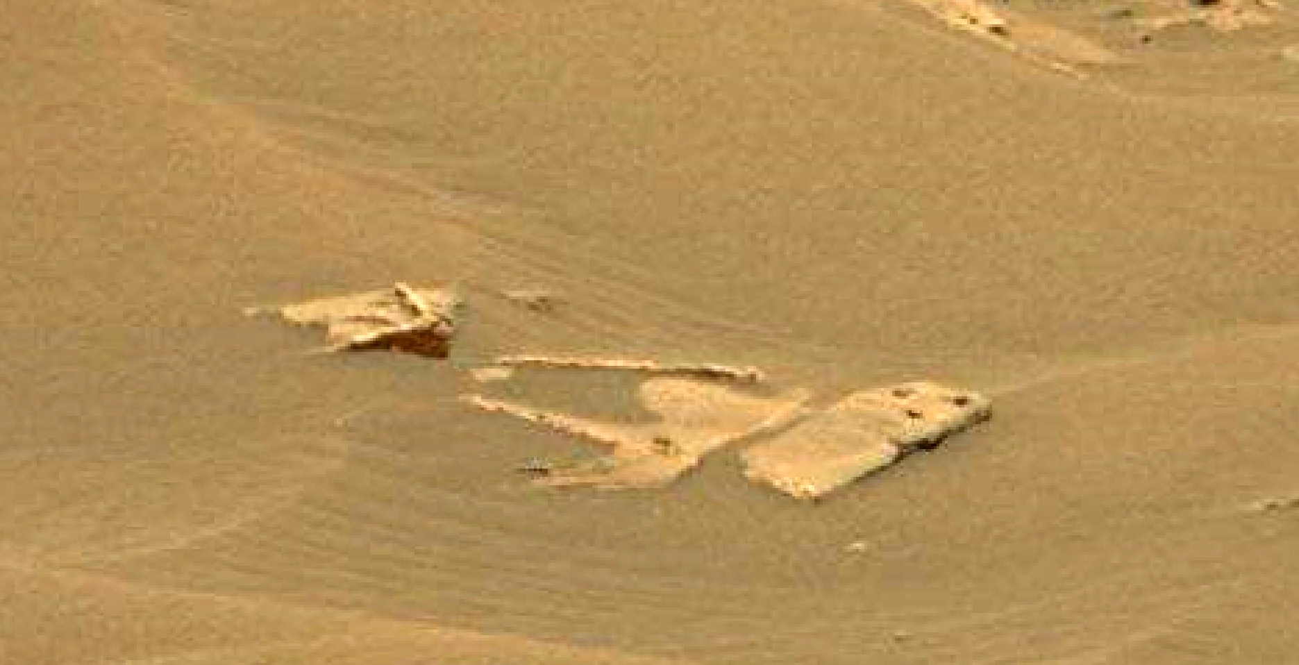 mars sol 1353 anomaly-artifacts 39 was life on mars