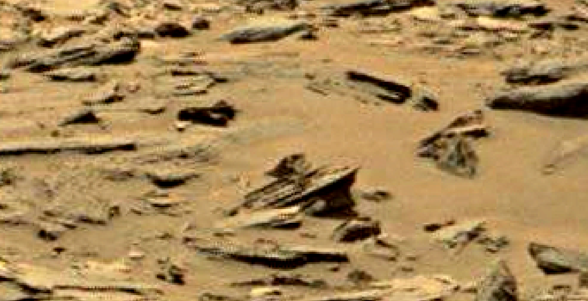 mars sol 1353 anomaly-artifacts 4 was life on mars