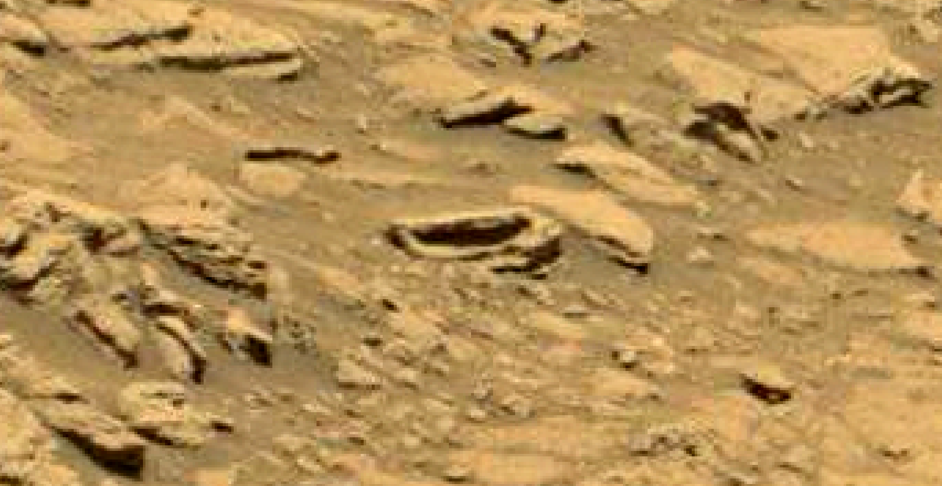 mars sol 1353 anomaly-artifacts 40 was life on mars