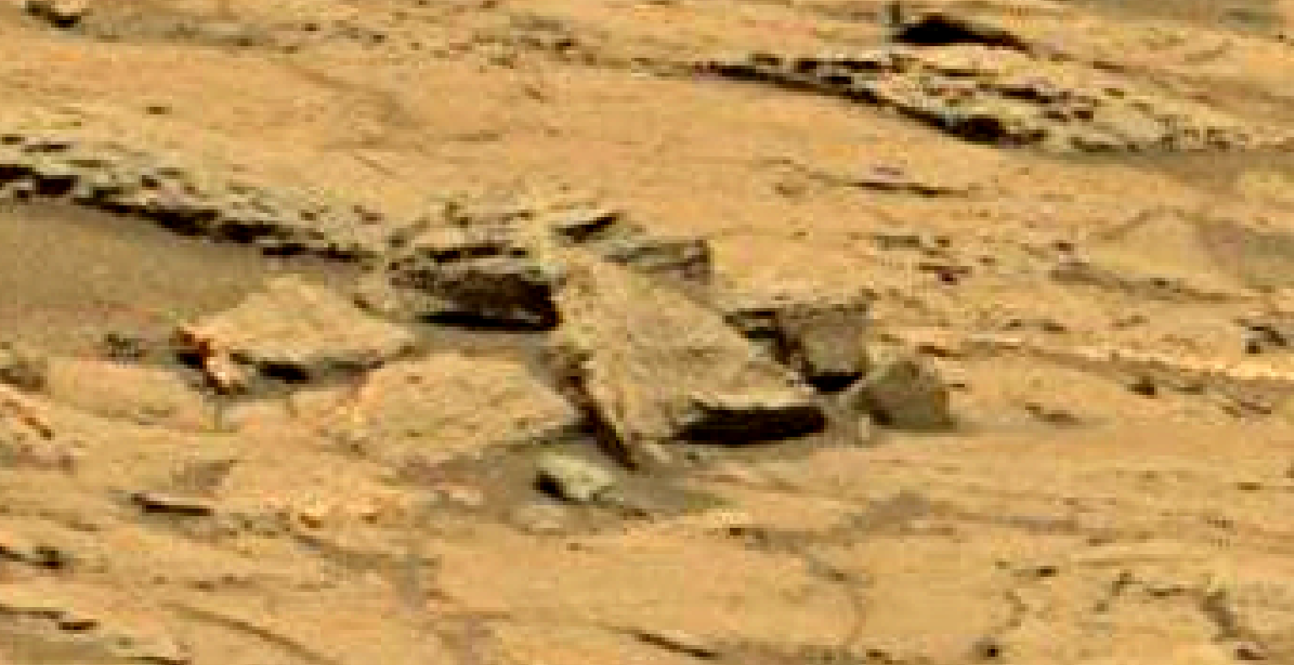 mars sol 1353 anomaly-artifacts 58a1 was life on mars