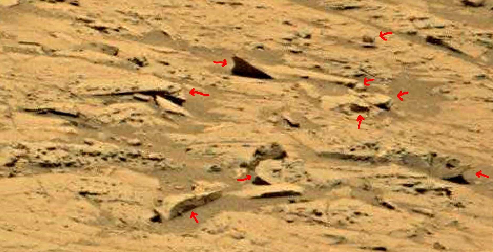 mars sol 1353 anomaly-artifacts 59 was life on mars
