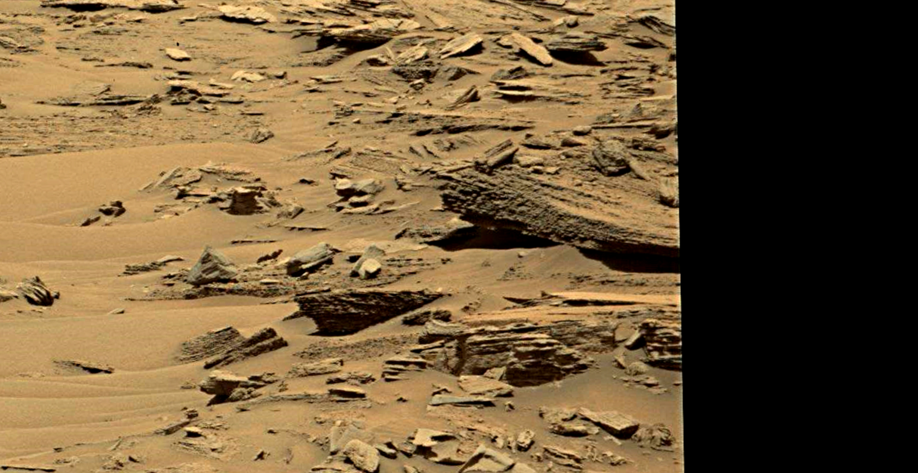 mars sol 1353 anomaly-artifacts 6 was life on mars
