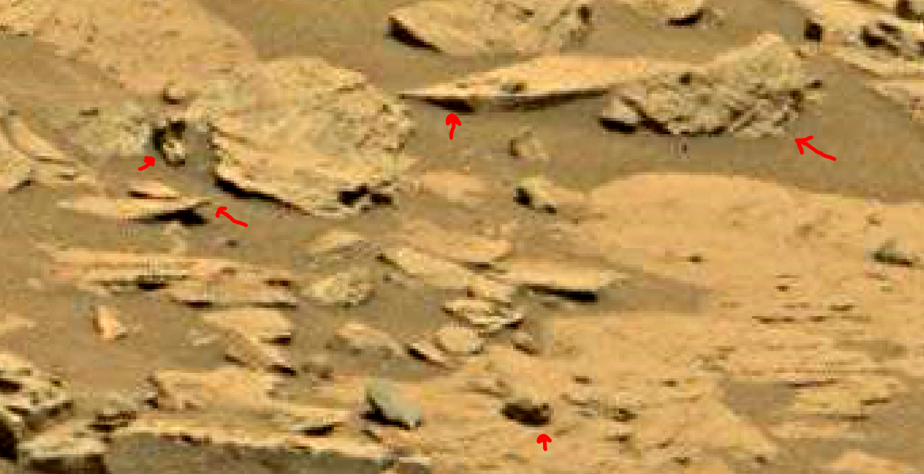 mars sol 1353 anomaly-artifacts 63 was life on mars