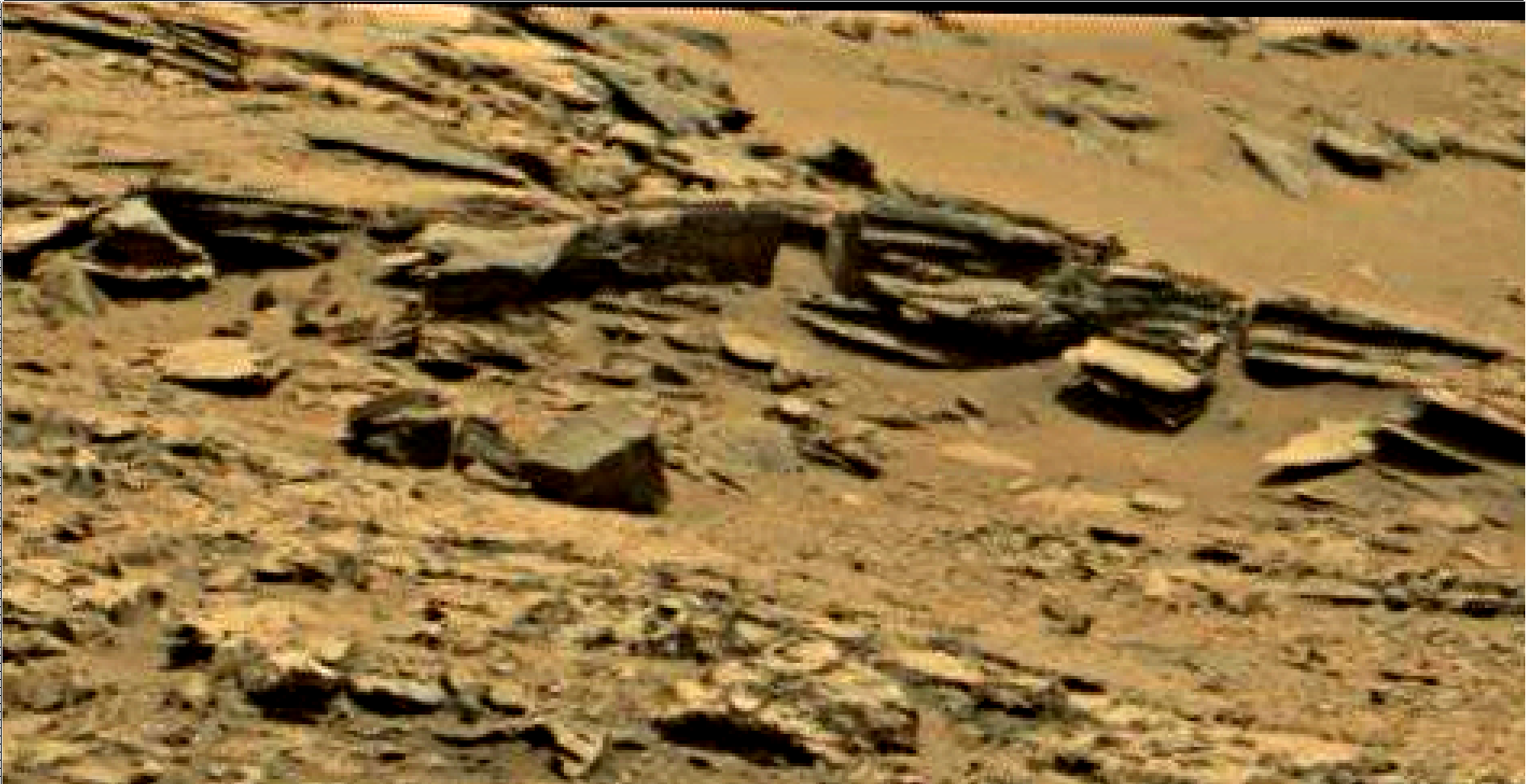 mars sol 1353 anomaly-artifacts 68 was life on mars
