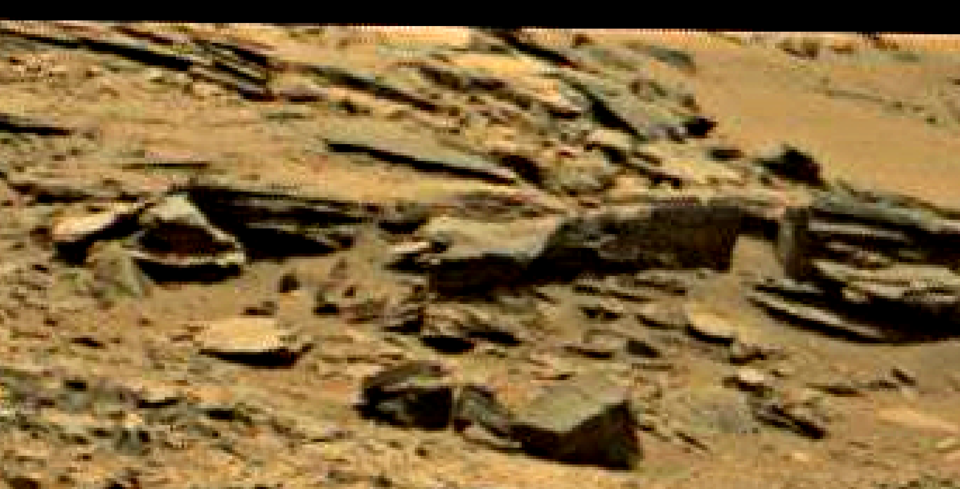 mars sol 1353 anomaly-artifacts 68a-1 was life on mars